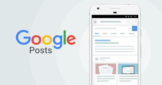 Gebruik maken van Google post voor je Lokale Seo en meer lokale vindbaarheid.
